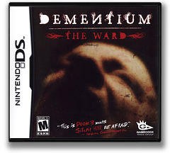Dementium - The Ward DS cover (YDTE)