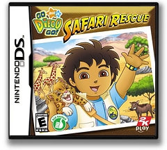 Go, Diego, Go! - Safari Rescue DS cover (YEQE)