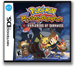 Pokémon Mystery Dungeon - Explorers of Darkness DS cover (YFYE)