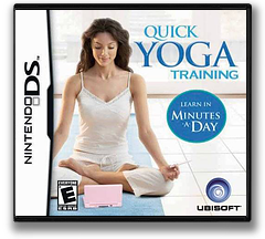 Quick Yoga Training - Learn in Minutes a Day DS cover (YGCE)