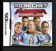Iron Chef America - Supreme Cuisine DS cover (YIAE)