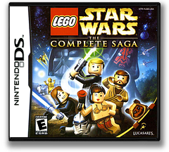 LEGO Star Wars - The Complete Saga DS cover (YLGE)