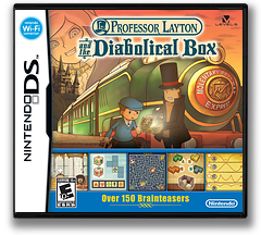 Professor Layton and the Diabolical Box DS cover (YLTE)