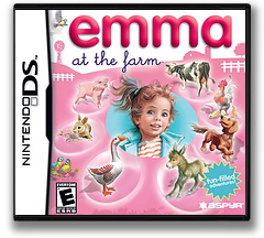 Emma at the Farm DS cover (YM9E)