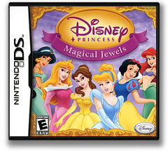 Disney Princess - Magical Jewels DS cover (YMJE)