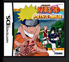 Naruto - Path of the Ninja DS cover (YN5E)