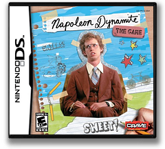 Napoleon Dynamite - The Game DS cover (YNDE)