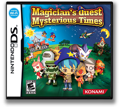 Magician's Quest - Mysterious Times DS cover (YNNE)