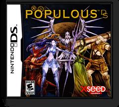 Populous DS DS cover (YPOE)