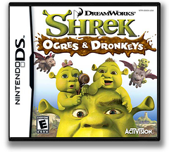 Shrek - Ogres & Dronkeys DS cover (YQ3E)