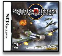 Spitfire Heroes - Tales of the Royal Air Force DS cover (YRAE)