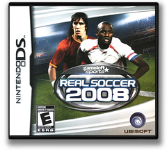 Real Soccer 2008 DS cover (YRFE)