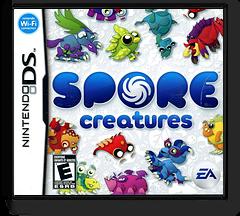Spore Creatures DS cover (YSPE)