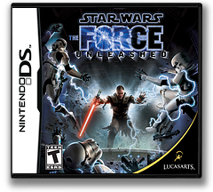 Star Wars - The Force Unleashed DS cover (YSTE)