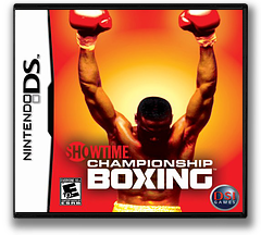 Showtime Championship Boxing DS cover (YSYE)