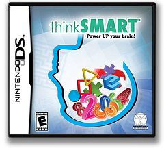 ThinkSmart - Power Up Your Brain! DS cover (YTLE)