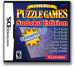 Ultimate Puzzle Games - Sudoku Edition DS cover (YUSE)