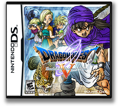Dragon Quest V - Hand of the Heavenly Bride DS cover (YV5E)
