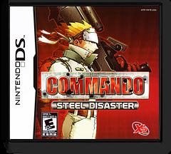 Commando - Steel Disaster DS cover (YW7E)