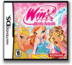 Winx Club - Mission Enchantix DS cover (YWCE)