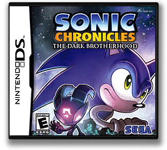 Sonic Chronicles - The Dark Brotherhood DS cover (YWSE)