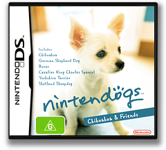 Nintendogs - Chihuahua & Friends DS cover (AD2E)