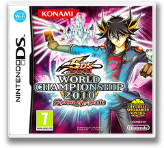 Yu-Gi-Oh! 5D's - World Championship 2010 - Reverse of Arcadia DS cover (BYXP)