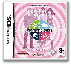 Element Girls - Love, Fashion & Friends DS cover (CE9P)