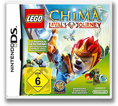 LEGO Legends of Chima - Laval's Journey DS cover (TCBD)