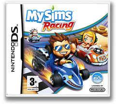 MySims - Racing DS cover (CQRP)
