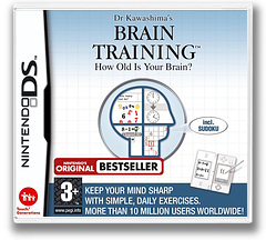 Dr Kawashima's Brain Training - How Old Is Your Brain DS cover (ANDP)