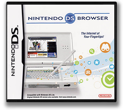 Nintendo DS Browser DS cover (UBRP)