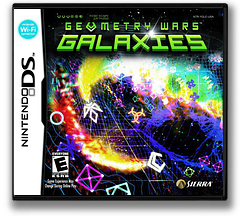 Geometry Wars - Galaxies DS cover (YGLE)