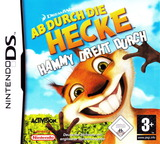 Over the Hedge - Hammy Goes Nuts! DS cover (AVHP)