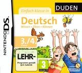 Duden - Einfach Klasse in Deutsch - 3. und 4. Klasse DS cover (BU4D)