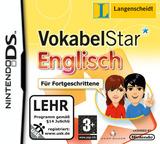 Langenscheidt VokabelStar Englisch für Fortgeschrittene DS cover (BVKP)