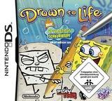 Drawn to Life - SpongeBob SquarePants Edition DS cover (CDLP)