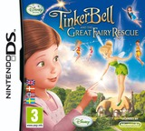 Tinker Bell and the Great Fairy Rescue DS cover (BTUY)