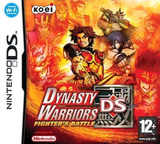 Dynasty Warriors DS - Fighter's Battle DS cover (A3MP)