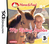 Horse & Foal - My Riding Stables DS cover (AI3P)
