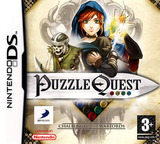 Puzzle Quest - Challenge of the Warlords DS cover (AQWX)