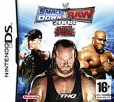 WWE SmackDown vs Raw 2008 featuring ECW DS cover (AW8P)