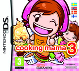 Cooking Mama 3 DS cover (B3CX)