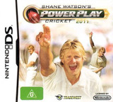 Shane Watson's Power Play Cricket 2011 DS cover (BCEU)