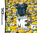 Despicable Me - Minion Mayhem DS cover (BDWP)