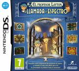 El Profesor Layton y la Llamada del Espectro DS cover (BLFS)