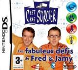 C'Est Pas Sorcier - Les Fabuleux Defis de Fred & Jamy DS cover (CE2F)