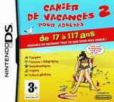 Cahier de Vacances pour Adultes 2 DS cover (CVUF)