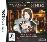 Cate West - The Vanishing Files DS cover (CWFP)