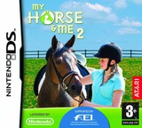 My Horse & Me 2 DS cover (CXHP)